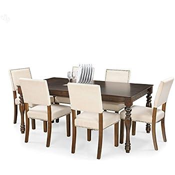 Royal Oak Ranger Six Seater Dining Table Set Brown