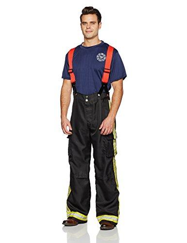 Leg Avenue 83684 - Feuer Kapitän Kostüm Set, Größe M/L, (Sexy Kostüme Feuerwehrmann)