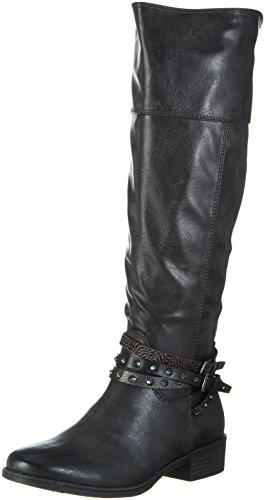 MARCO TOZZI Damen 25501 Stiefel, Grau (Anthracite A.C), 39 EU