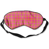 Eye Mask Eyeshade Color Plaid Sleeping Mask Blindfold Eyepatch Adjustable Head Strap preisvergleich bei billige-tabletten.eu