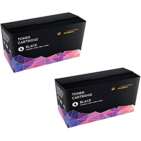 2 Nero Toner Compatibile per Samsung CLP-310, CLP-310N, CLP-315, CLP-315N, CLP-315W, CLX-3170, CLX-3170FN, CLX-3170FW, CLX-3170N, CLX-3175, CLX-3175FN, CLX-3175FW, CLX-3175N (2BK)