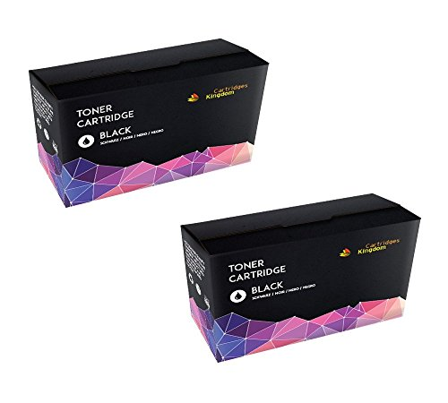 CARTRIDGES KINGDOM 2-er Pack Schwarz Toner kompatibel zu HP CB435A / 35A