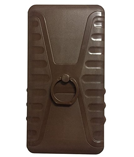Zocardo Brown Back Cover For Xolo A600 with Back Ring stand for easy carrying of mobile  available at amazon for Rs.349