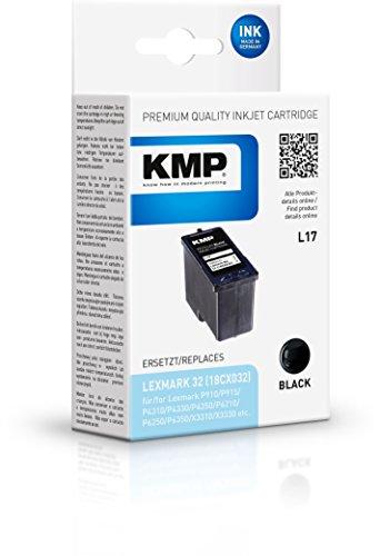 Preisvergleich Produktbild KMP Tintenkartusche für Lexmark P910/X3310//810, L17, black
