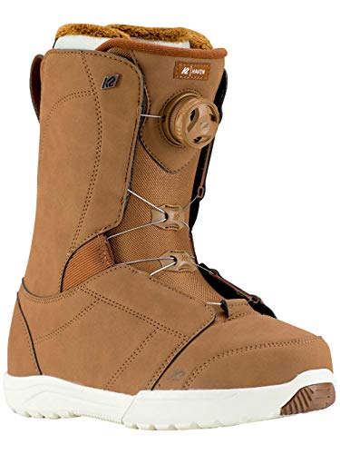 K2 Snowboard Boots Gr. 7,5 schwarz BOA Schnürsystem stoßabsorbierend - Damen 7.5 Snowboard-boots