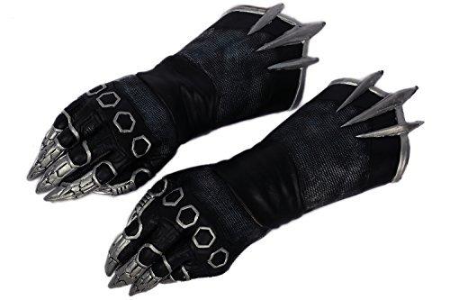Black Cosplay Kostüm Claw Handschuhe Film Paws Latex Accessorsises Erwachsene Party Halloween Verrücktes Kleid ()
