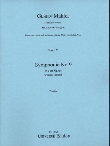 Symphonie Nr. 9: Gesamtausgabe. Band 10. für Orchester. Partitur