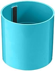 KalaMitica Cylindre, Pot Magnétique, Ø 10,5 cm, Turquoise Caraïbe