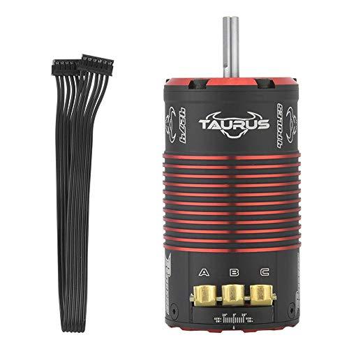 VGEBY1 Brushless Motor, 4274 V2 Brushless Sensored Motor 4 Pole Rocket Stock Spec Brushless für 1/8 on Road RC Car Zubehör(1700KV) - Rc-brushless-elektromotoren
