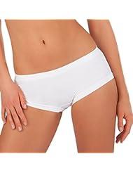 Figur Body Figur Body Super Panty 7er-Set - Eisblau, Lavendel, Rosa, Hellgrün, Schwarz, Weiß, Beige - Bloomers - Femme