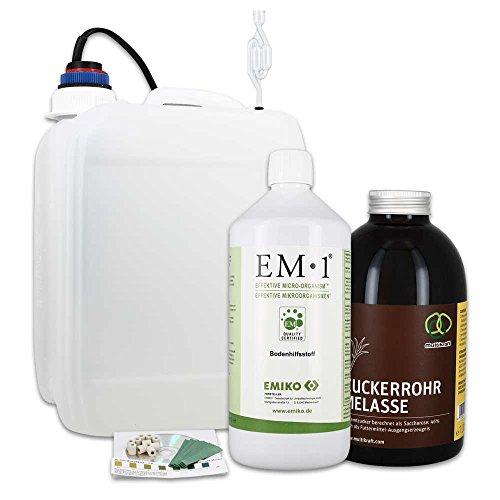 Fermenter-Einsteigerset mit EM1 Urlösung EMIKO® (5L)