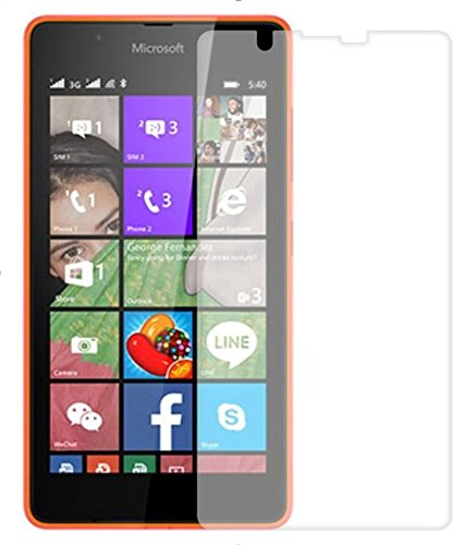 Tidel 0.3mm Curved Tempered Glass Guard Protector For Microsoft Nokia Lumia 540  available at amazon for Rs.99