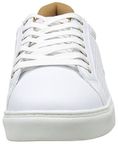 Kaporal Krisley, Baskets Basses Homme Blanc (Blanc / CAMEL)