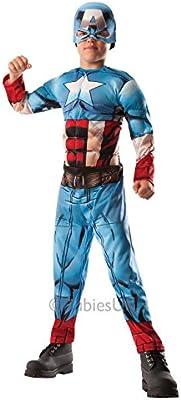 Deluxe Hulk al Capitán América - Avengers Assemble - Childrens Disfraz