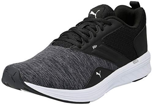 Puma Nrgy Comet, Zapatillas de Running Unisex adulto,Negro Puma Black-Puma White 06 43 EU