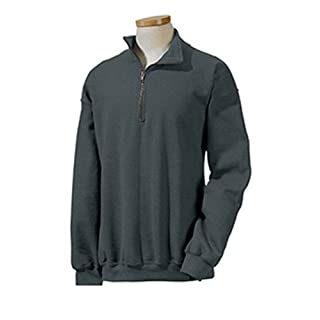 Gilan 18800 GD Adt 1/4Zp Fleece, Größe XL, Russet Gr. US Medium, Tweed
