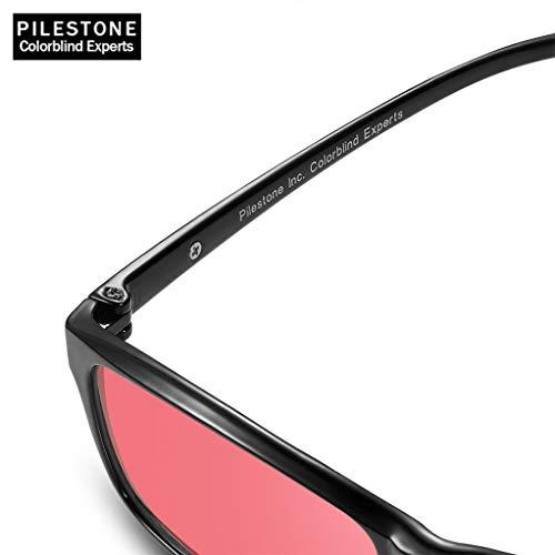 PILESTONE GM-2 Gafas Daltónicas de Color Rojo/Verde