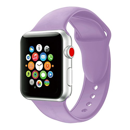 a59de16a26c VODKER For Apple Watch Strap 38mm 42mm Soft Silicone Apple Watch Band For  iWatch Series 3