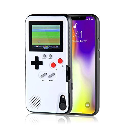 AOLVO Coque Game pour IPhone, Etui De Protection Rétro 3D, 36 Petits Jeux Classique, Écran Couleur, Antichoc Vidéo Jeu Coque pour IPhone X/XS/Max/XR, IPhone8/8 Plus, IPhone 7/7 Plus, IPhone 6/6Plus