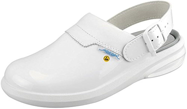Abeba 37620-43 misura 109,22 (43 cm Easy ESD-Scarpe da da da lavoro per zoccolo, Coloreeee  bianco | Diversified Nella Confezione  | Uomini/Donna Scarpa  175456