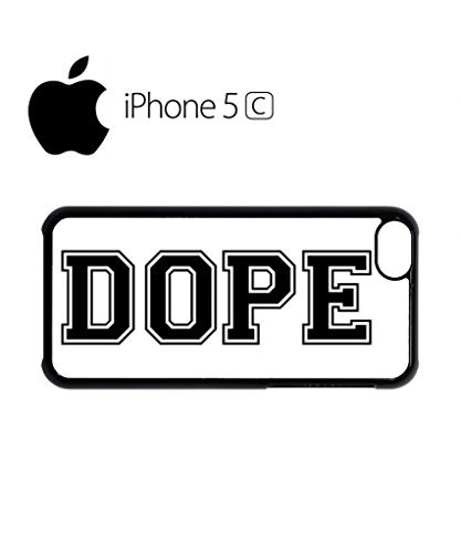 Dope Please Baseball Mobile Cell Phone Case Cover iPhone 5c Black Schwarz
