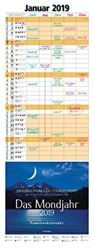 Das Mondjahr 2019: Familienkalender - Mit Fotos von Gerhard Eisenschink - Das Original