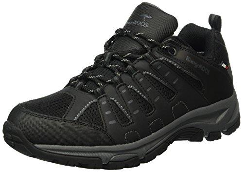 KangaROOS Botar M, Chaussures de plein airClassiques homme Noir - Noir/gris foncé (522)