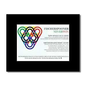 Music Ad World FISCHERSPOONER - Never Win Mini Poster - 21x13.5cm