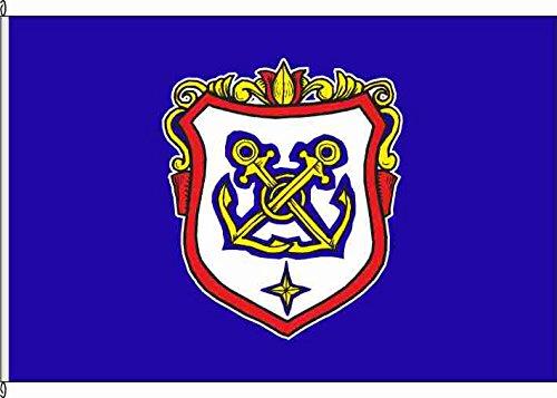 Flagge Fahne Autoflagge Wappen Marine - 30 x 45cm