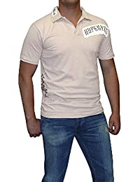 S&LU absolut angesagtes Herren-Polo-Shirt in Used-Optik