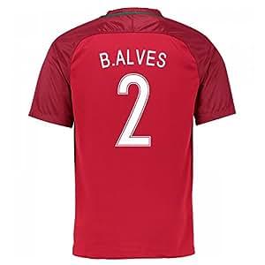 2016-17 Portugal Home Shirt (B.Alves 2)
