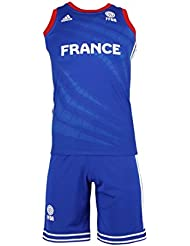 Ensemble ADIDAS PERFORMANCE Mini Kit Enfant Basketball France FFBB