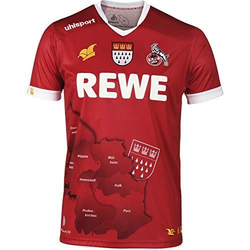 uhlsport 1. FC Köln Karneval Trikot 19/20 Limitiert (5XL, rot)