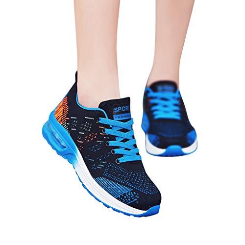 Luckycat Herren Laufschuhe Atmungsaktiv Turnschuhe Schnürer Sportschuhe Sneaker Herren Damen Sneaker Slip on Sportschuhe Turnschuhe Outdoor Leichtgewichts Laufschuhe Freizeit Atmungsaktive Schuhe