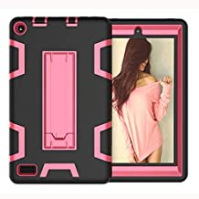 For Amazon Kindle Fire 7 2019 2017 Tablet Case Shock-proof Stand Hard Cover