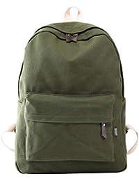Chakil Mochila de Nylon Impermeable Backpack Bolsas Moda Mochila de Universidad y Escuela para Chicas Mujeres