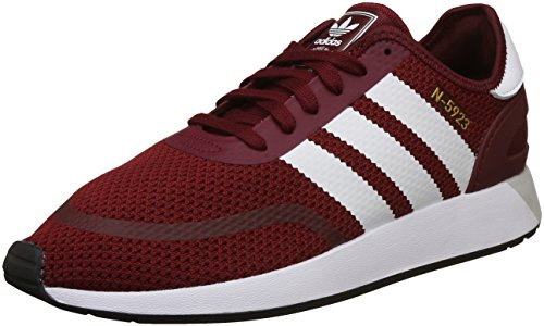 new arrival 9d1ec 97e05 adidas Men s s Iniki Runner CLS Gymnastics Shoes Rot (Collegiate  Burgundy FTWR White Core