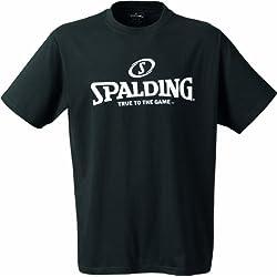 Spalding Basketball-fanartikel Logo T-shirt, color negro (schwarz) - L