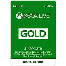 Xbox Live Gold Mitgliedschaft 3 Monate [Xbox Live Download Code]