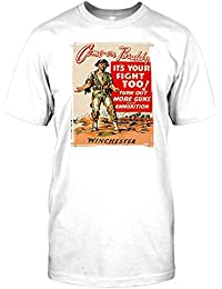 Come on Buddy its Your Fight too Mens T Shirt - Funny