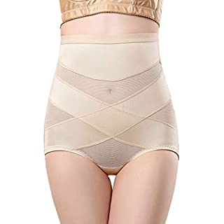Befied Women Shapewear Underwear Elastic High Waist Hip Abdomen Firm Control Shapewear Underwear Briefs Ladies Body Shaper Underwear
