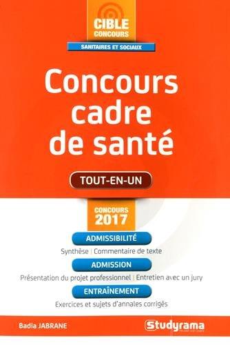 Concours Cadre de Sante 2017