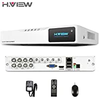 H.View 4 Telecamere di sorveglianza, 8 canali, H.264 CCTV, con