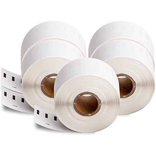 5 Rotoli di etichette per indirizzi, compatibili con Dymo 11356 41mm x 89mm (300 etichette per rotolo) per Dymo Labelwriter 310 / 320 / 330 / 330 Turbo / 400 / 400 Turbo / 400 Twin Turbo / 400 Duo