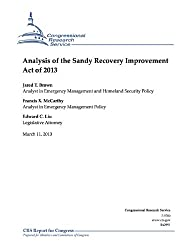 Analysis of the Sandy Recovery Improvement Act of 2013 (English Edition)
