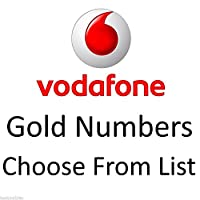 GOLD VIP BUSINESS EASY MOBILE PHONE NUMBER DIAMOND PLATINUM SIM CARD VODAFONE
