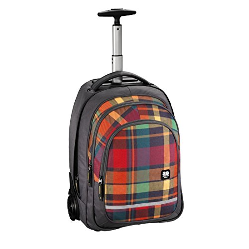 Hama All Out Bolton Chariot Woody Orange Fonction Trolley Sac à Dos
