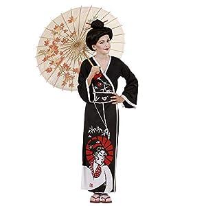 WIDMANN Kimono de Geisha para niñas de 5-7 años, 128 cm (SA-57366)