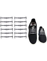 fangcheng Lacci per Scarpe Elastici in Silicone Adulti No Tie Lacci  Impermeabile 16 Pezzi 6cm Vari c19efaf8a81