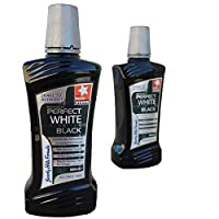 Beverly Hills Formula Perfect White Black Alcohol Free Mouthwash, 500 ml